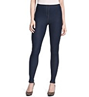M&S Collection Cotton Rich Denim Leggings