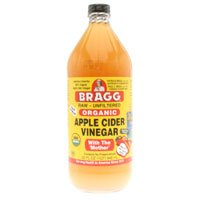 BRAGG ORGANIC RAW UNFILTERED APPLE CIDER VINEGAR 32 fl.oz (Pack of 2)