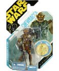 Star Wars 30th Anniversary Collection McQuarrie Concept Chewbacca Action Figure Ultimate Galactic Hunt (with Gold Coin)