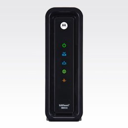 21Tx0F53qHL Motorola SURFboard SB6141 DOCSIS 3.0 High Speed Cable Modem (OEM Brown Box)