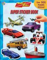 Radical Rides Super Sticker Book