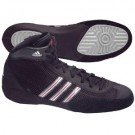 Adidas Combat Speed III JR. Wrestling Shoes-black/grey/red-12-Youth