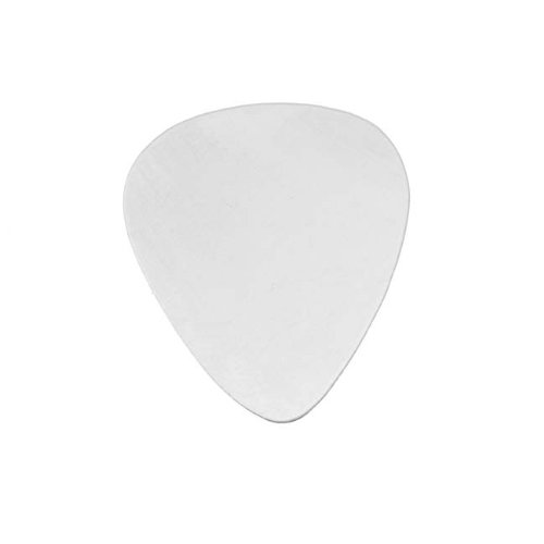 Beadaholique Sterling Silver Guitar Pick No Hole Blank