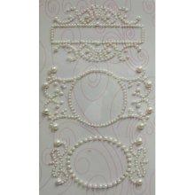 Fancy Tags & 3/Black Rhinestone Embellishments - 793091