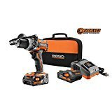 RIDGID 18-Volt Lithium-Ion 1/2 in. Cordless Brushless Compact Hammer Drill Kit