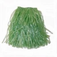 Dozen Kids Hawaiian Aloha Luau Green Grass Skirts