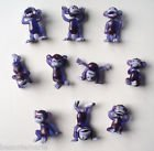 Purple Funny Monkey Figures - Tiny Plastic Monkey Figures Set - 10 Pc