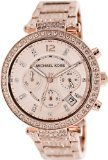 Michael Kors Women's MK5663 Rose-Gold Stainless-Steel Quartz Watch with Rose-Gold Dial