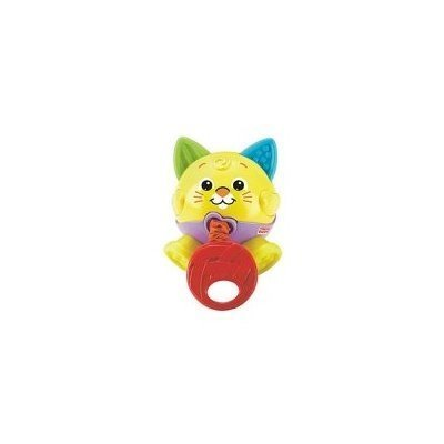 Fisher Price Brilliant Basics Tug & Giggle Kitty - 1