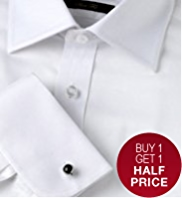Sartorial Pure Cotton Twill Stripe Slim Fit Shirt