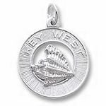 Rembrandt Charms Key West Charm - Sterling Silver