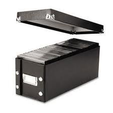 Ideastream Products Products - Snap-N-Store CD Storage Box, 30 CD Cap, 5-1/4x14x5-3/4