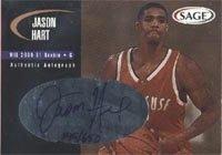 Jason Hart Milwaukee Bucks 2000 Sage Authentic Autograph Autographed Hand Signed... by Hall+of+Fame+Memorabilia