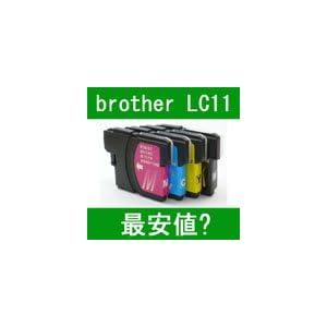 互換インク brother LC11C (ブラザー LC11-4PK対応)