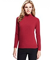 M&S Collection Cashmilon™ Polo Neck Jumper