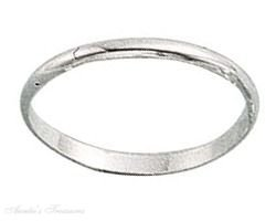 Sterling Silver Plain Band Ring 1.5mm Size 4