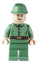 Russian Guard 1 - LEGO Indiana Jones Figure