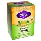 Green Tea Energy, Caffeine, 16 Tea Bags, 1.12 oz (32 g)