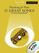Guest Spot 21 Great Songs Gold Édition Flûte 4 CD (Book & CD)