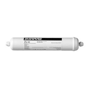 Everpure EV9100-06 IN-10 Inline Filter with 1/4 inch Quick-Connect Fittings