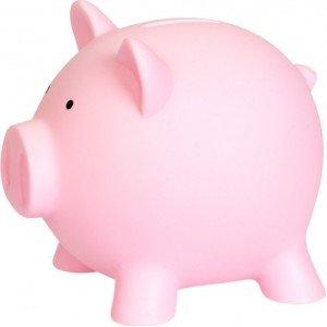 Varie - Forma di salvadanaio maiale rosa