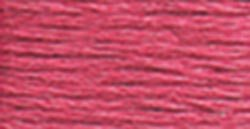 DMC Pearl Cotton Skeins Size 5 27.3 Yards Rose 115 5-335; 12 Items/Order