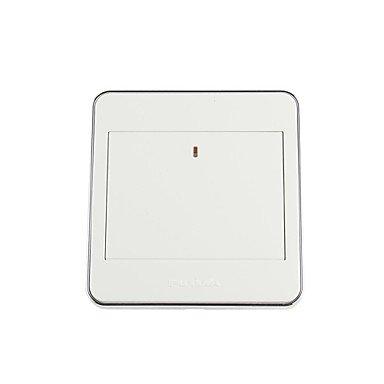 Zcl Futina High Quality Mirror Panel 1-Gang Power Control Wall Switch (110~250V)