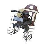 昭和インダストリーズ Pony SG 自転車用 チャイルドシート ブラウン/ブラック RB-800