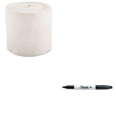 Kitsan30001Txll101 - Value Kit - Gymwipes Anti-Bacterial Wipes Refill (Txll101) And Sharpie Permanent Marker (San30001) front-61256