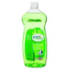 CLO 30381CT Green Works Natural Pot and Pan Dishwashing Liquid, Case of 8