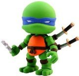 "Teenage Mutant Ninja Turtles Wave 1 Leonardo 3"" Vinyl Mini Figure [Loose]"
