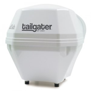 Dish Network VQ2500 Tailgater Portable Satellite Antenna