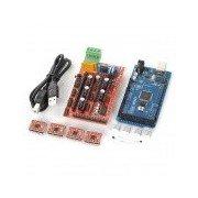 3D Reprap Printer Mega2560 + Ramps1.4 + 4-A4988 Stepstick Driver Module Set for Arduino - Red Red
