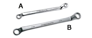Ega-master 61774 - Chiave fine 5,5-6 mm cr.aer satinato.