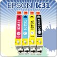 エプソン 互換インクカートリッジEPSON IC4CL31 4色セット【ICチップ付】