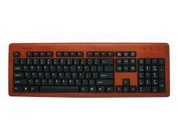 Impecca Bamboo Designer Keyboard Cherry - Impecca KBB105