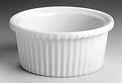 Ramekin, Fluted 3 Oz. - Buy Ramekin, Fluted 3 Oz. - Purchase Ramekin, Fluted 3 Oz. (Hall China, Home & Garden, Categories, Kitchen & Dining, Cookware & Baking, Baking, Ramekins & Souffle Dishes)