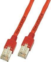 Câble réseau Cat 5e F/UTP 1M rouge Draka - [1x RJ45 mâle - 1x RJ45 mâle] - K8076.1 - 1 m - rouge