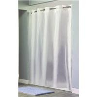 Hookless RBH14LS09 Shower Curtain- Frosty White (Hookless Shower Curtain compare prices)