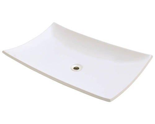 Mr Direct V360-B Bisque Porcelain Vessel Sink
