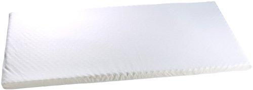 newgen medicals Matratzenauflage aus thermoaktivem Memory-Foam mit Bezug, 90x200x7 cm