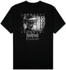 Nightmare On Elm Street T-Shirt Freddy S Film Maglietta in taglia M