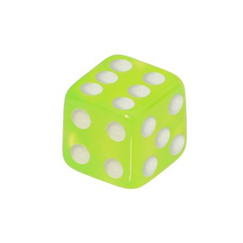 5mm Lime Green Dice Replacement Ball
