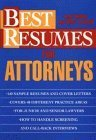 img - for Best Resumes for Attorneys by Joan Fondell (1994-01-03) book / textbook / text book