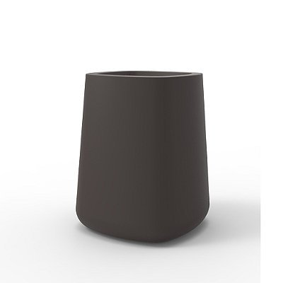 "High Square Vasija Pot By Vondom - Led Ice, 19"" - Frontgate"
