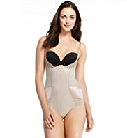 Plus Firm Tummy Control Sheer & Opaque Wear Your Own Bra No VPL Body