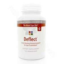 D'Adamo Personalized Nutrition - Deflect Lectin Blocker (Type O) 120vc