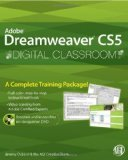 img - for Adobe Dreamweaver CS5 Digital Classroom by Osborn, Jeremy, AGI Creative Team, Heald, Greg [Paperback] book / textbook / text book