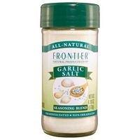 Frontier Natural Products Garlic Salt Seasoning Blend -- 4.16 Oz front-539975