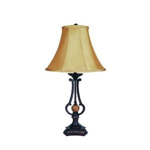 WelcomeiHome .INC Table Lamp with Marble Ball and Urn-Shaped Base at Sears.com